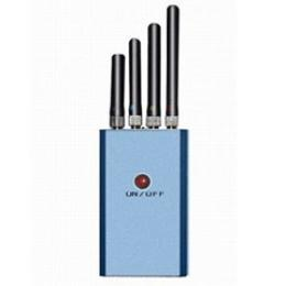 Mini Portable Cellphone and GPS 3G Jammer