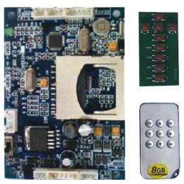 Mini Motion Detect DVR Module