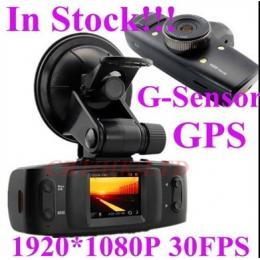 1080P Car DVR with GPS, G-Sensor