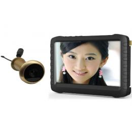 5.8G Wireless Door Peephole Camera with DVR