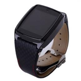 Steel Case Quad Band Java Camera Touch Screen Watch Phone
