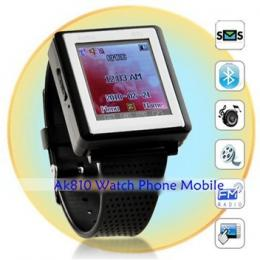 New Tri-band GSM Watch Mobile Phone