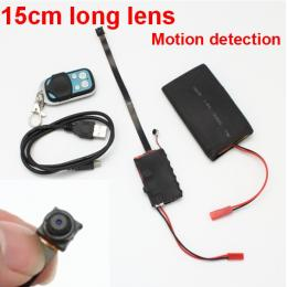 15cm long lens Camera 1280X720P Work time 12 hours Motion detection