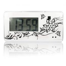 Night Vision 720P Clock DVR with Motion Detection