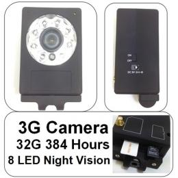 3G Video Security H.264 Camera 8 LED Night Vision