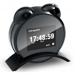 Large Screen Night Vision Clock DVR with Remote