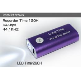 Power bank voice recorder 4000mah
