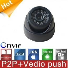 HD 720P IP Dome Camera