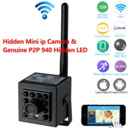 Mini 720P WiFi IP camera & DVR with Night Vision